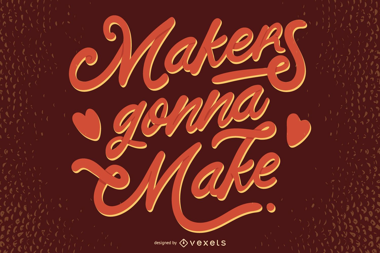 Crafting Quote Lettering Design