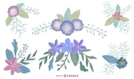 Floral Illustrations Set