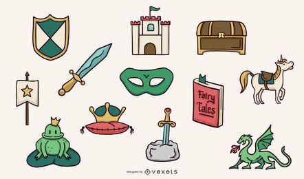 Coleção de elementos do príncipe