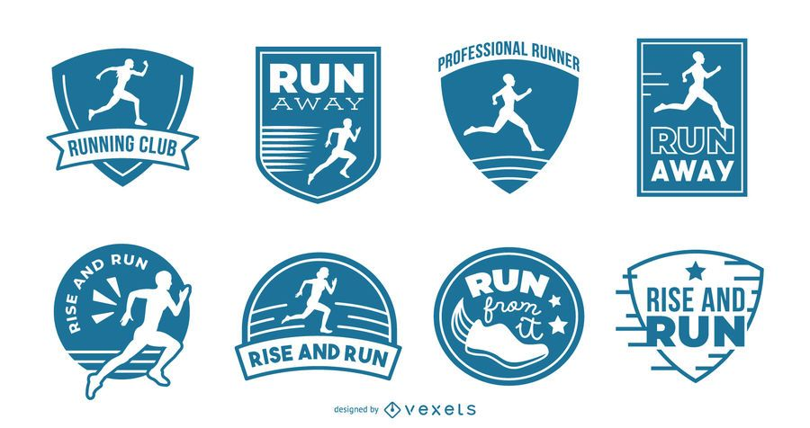 Running badges collection