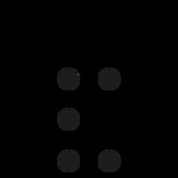 Ampersand dot spot stroke