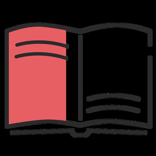 Libro de carrera plana manual Transparent PNG