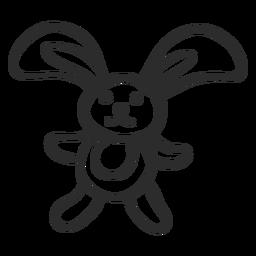 Doodle de coelho