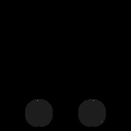 C c letter dot spot stroke