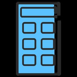 Curso plano da calculadora