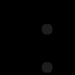 Capital dot spot stroke