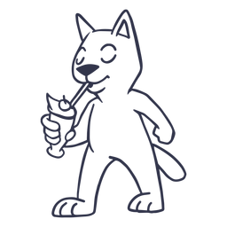 Curso de coquetel de gato