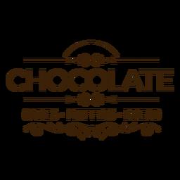 Adesivo de distintivo de pão muffins de bolos de chocolate