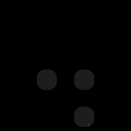 D d letter dot spot stroke