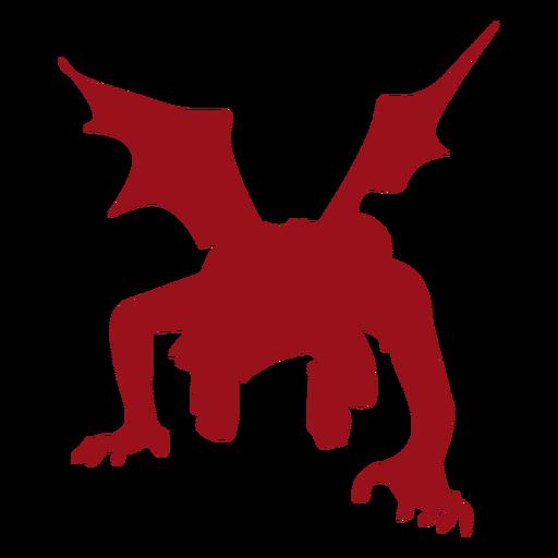 Silhueta de asa do diabo Transparent PNG