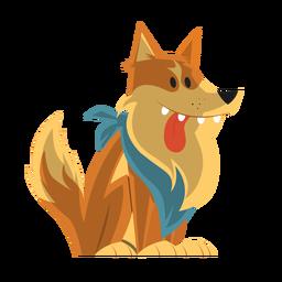Dibujo de perro collie