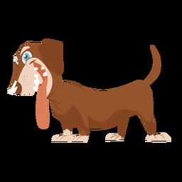Dibujo de perro salchicha