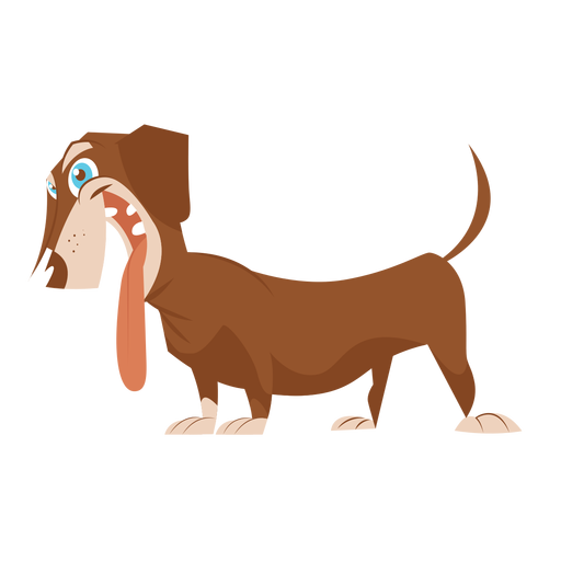 Dog dachshund sketch Transparent PNG