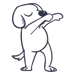 Hund tanzen Tanz Schlaganfall