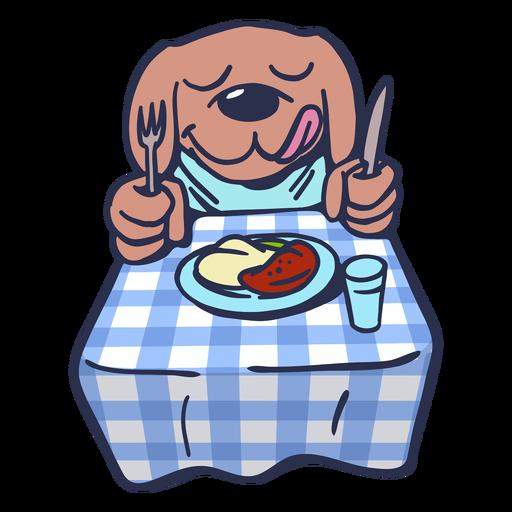 Curso prato de cão prato plano Transparent PNG
