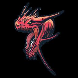 Adesivo de dragão