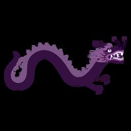 Adesivo de dragão liso