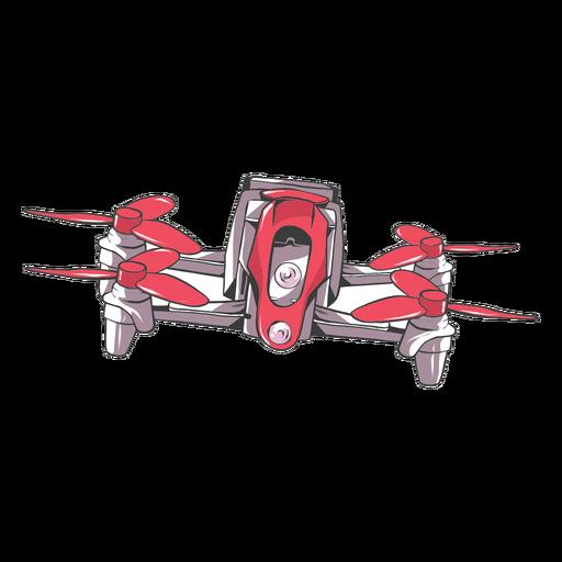 Drone quadcopter flat Transparent PNG