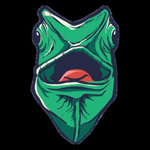 Gecko flat Transparent PNG