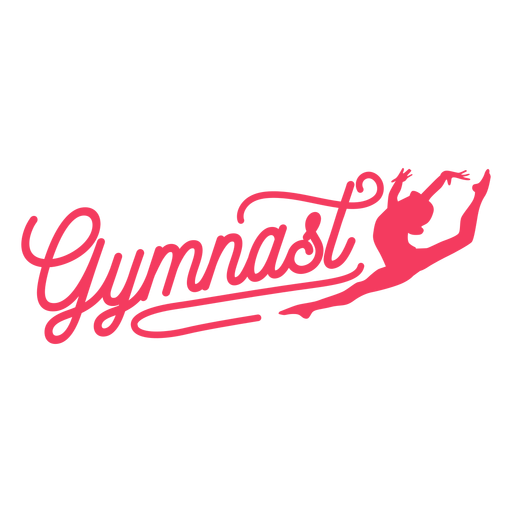 Insignia de gimnasta mujer