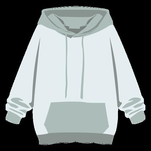 Pulôver de camisola com capuz liso Transparent PNG
