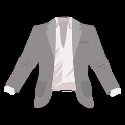 Jacket coat flat