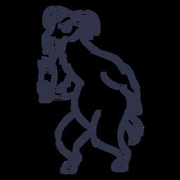 Curso de coquetel de lhama
