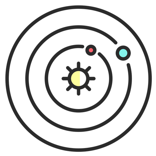Traçado plano de sol de mapa Transparent PNG