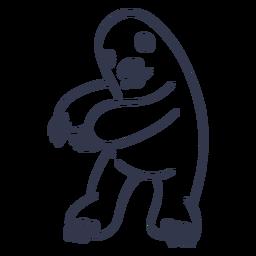 Maulwurf Tanz tanzen Schlaganfall