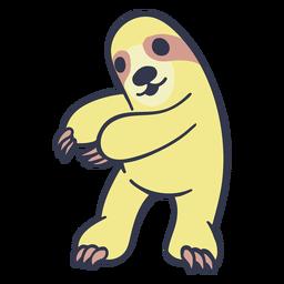 Mole dance dancing stroke flat