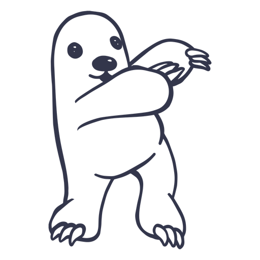 Mole dancing dance stroke Transparent PNG