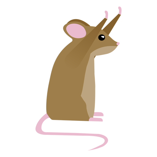 Mouse posture tail flat