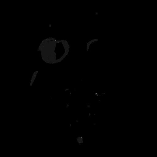 Skull helmet glasses illustration