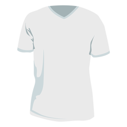 T-Shirt T-Shirt flach