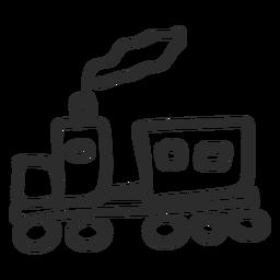 Doodle de trem