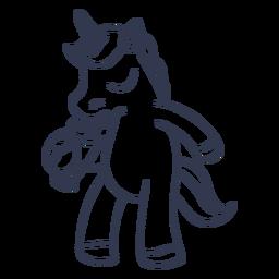 Golpe de cóctel de unicornio