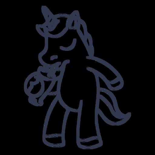 Golpe de cóctel de unicornio Transparent PNG