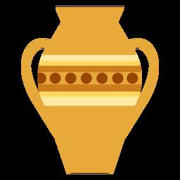 Vase handle flat