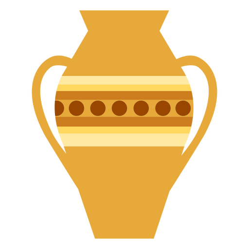 Vase handle flat Transparent PNG