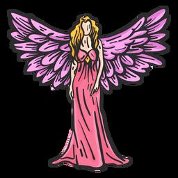 Flügel Engel flach