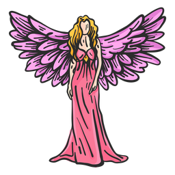 Wing angel flat