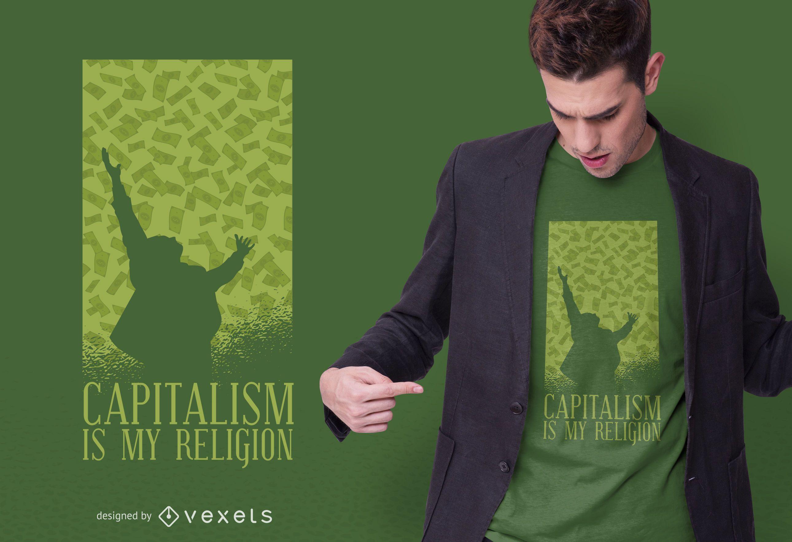 Capitalism t-shirt design