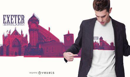 Diseño de camiseta de Exeter