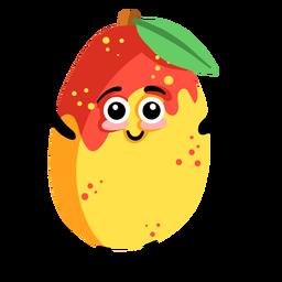 Aprikosenblatt flache Pflanze