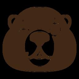 Beaver wink muzzle head flat