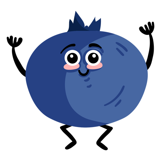 Bilberry whortleberry flat Transparent PNG