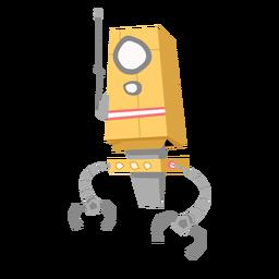 Esboço de antena de olho de robô de caixa