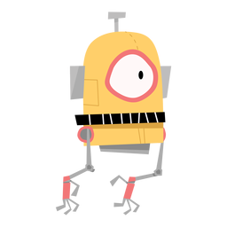 Box robot eye sketch