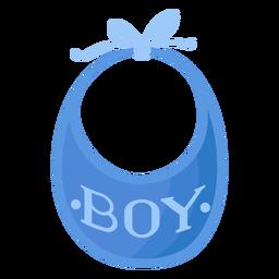 Babador de menino liso