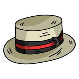 Cap hat top hat flat